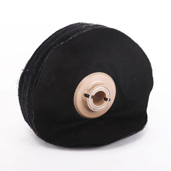 Escova Tela Macia Negra com Casquilho-0
